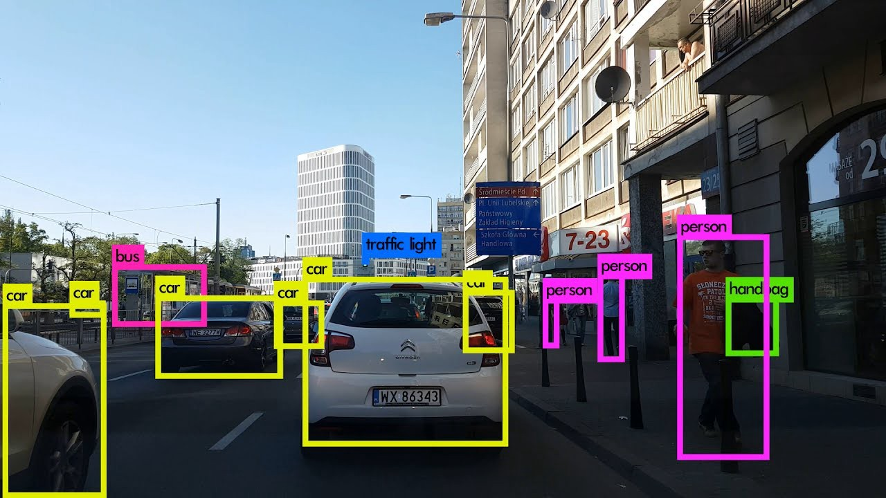 YOLO v3 Object Detection With ROS (Robot Operating System