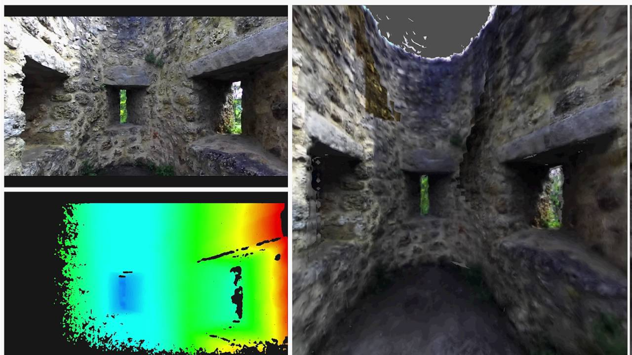 Road Detection with Point Cloud Library and ZED Stereoscopic